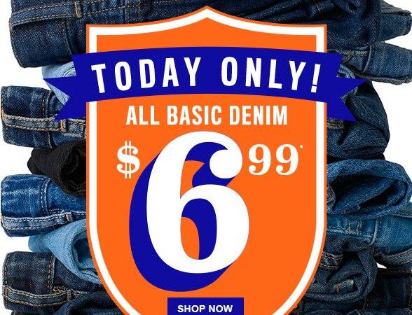 the chilrden's place sale $6.99 denim