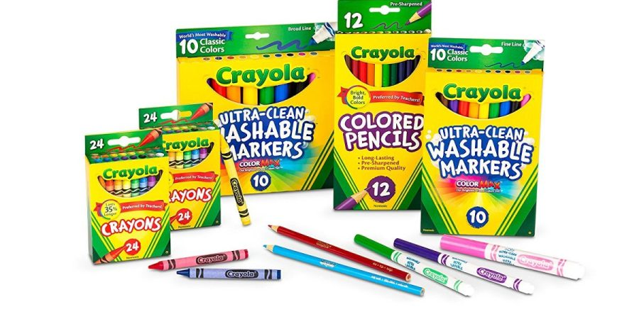 crayola amazon deal of the day