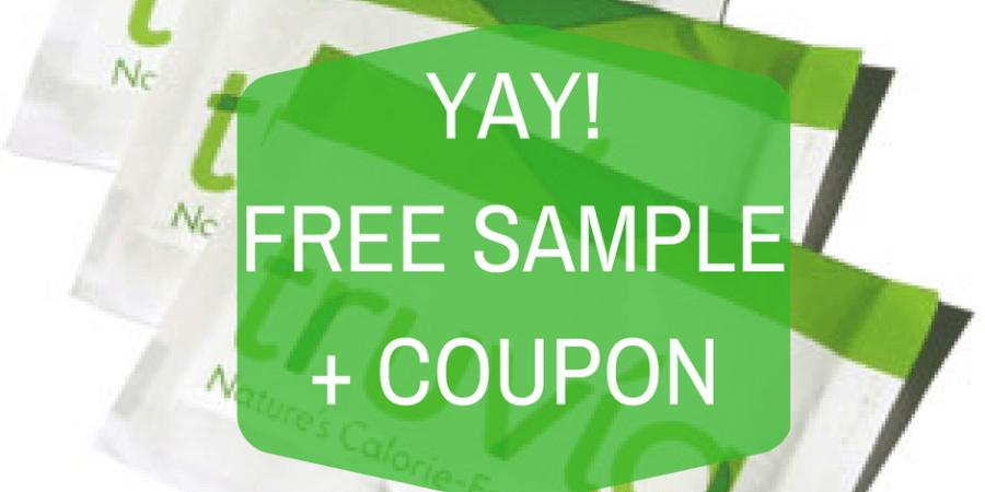 free truvia sample and coupon