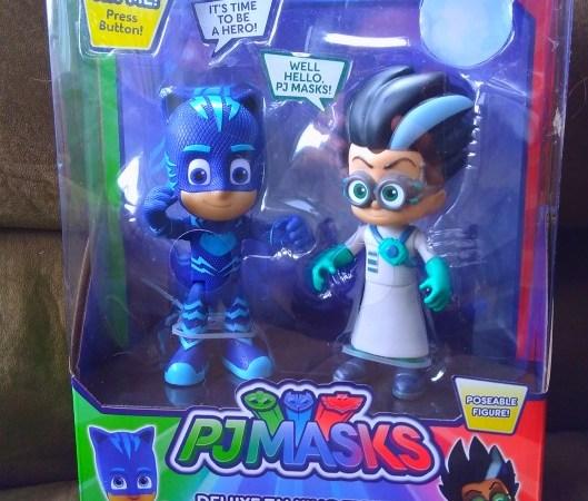 win a set of Pj Masks talking figurines
