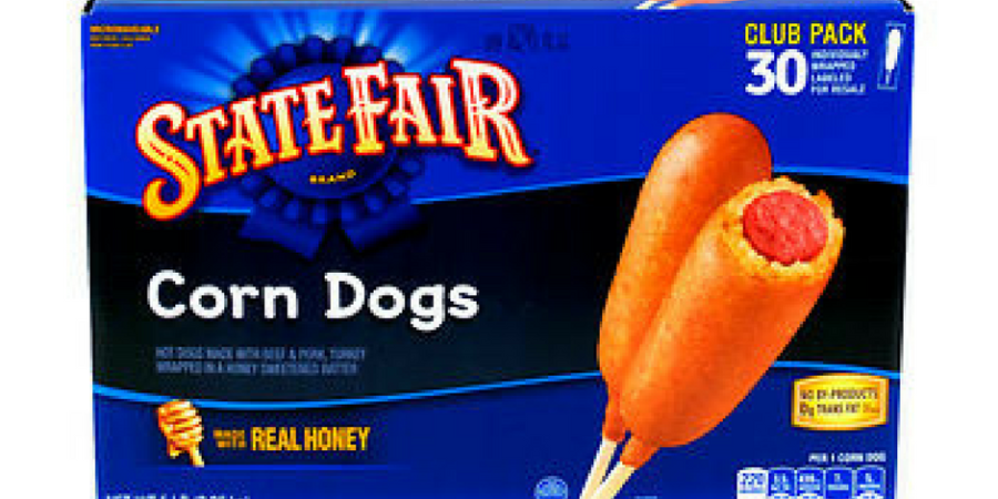 state fair corn dogs deal at BJs