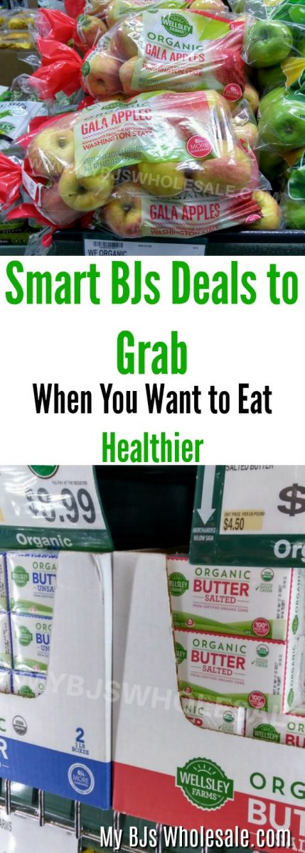 Save money when you want to eat healthier when you shop at BJ's wholesale club for these seven smart BJ's deals. No coupons needed plus price compare to Amazon.