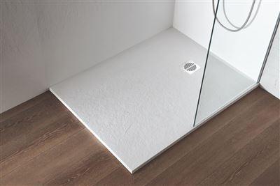 receveur de douche en ardoise blanc