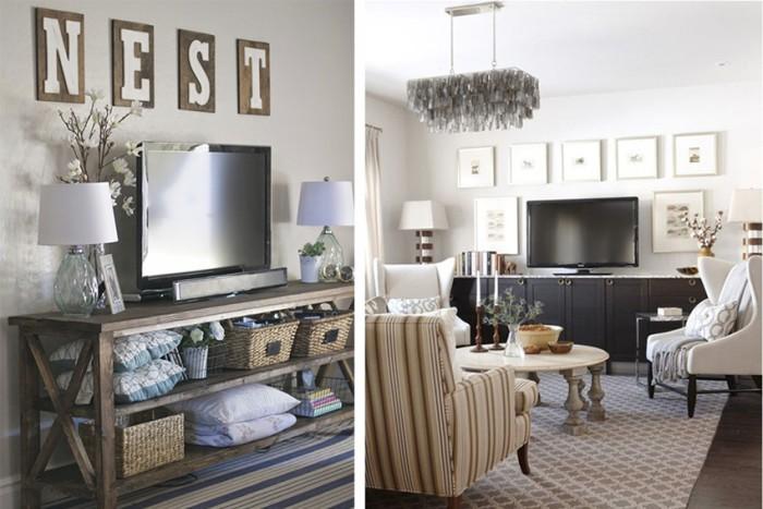 5 maneras de decorar el mueble de la televisi n - Muebles para la tele ...