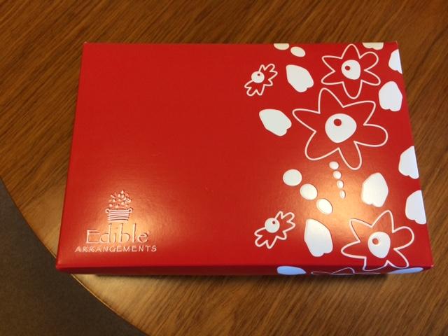 Edible Arrangements box