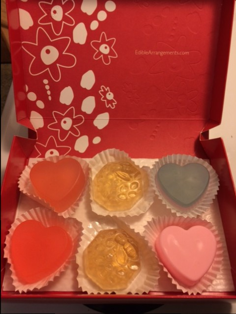 soap in Edible Arrangements box