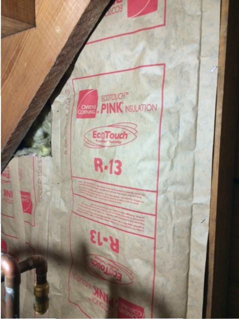 closet insulation detail