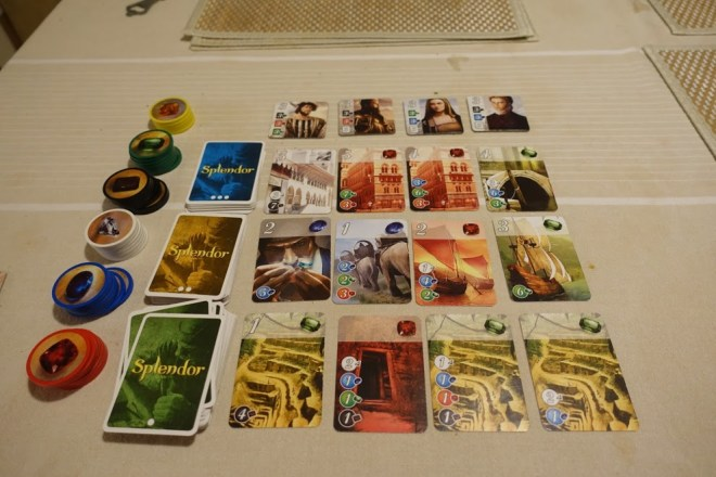 Splendor is a pleasant engine-building game