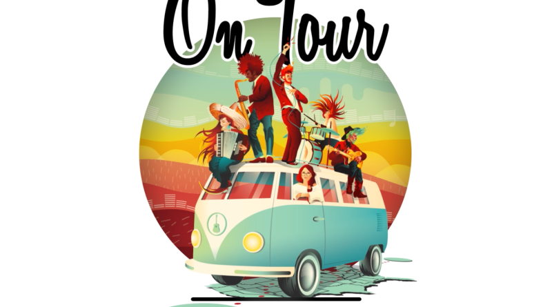 On Tour Board Game Logo