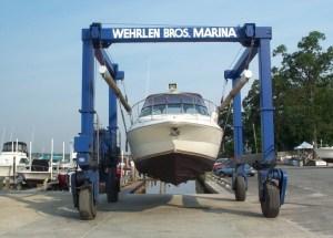 spring boat prep launch