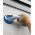 Suction Handle for Boat Hull Cleaning or Boarding a Boat