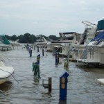 Hurricane Irene: Preparing Boats on Chesapeake Bay and Northern East Coast