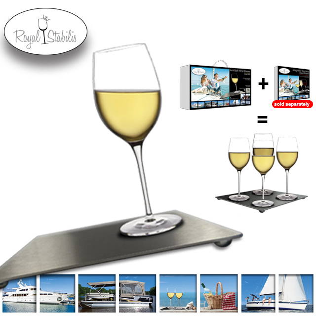 Anti-Spill Wine Glasses (Red, White and Champagne available) Image