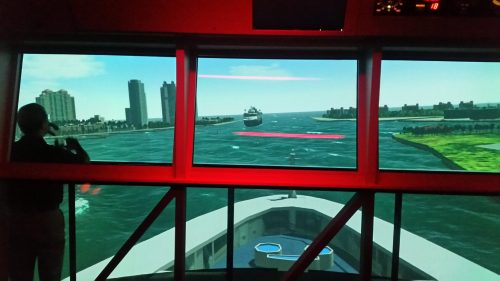 ship simulator underway