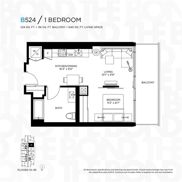 Floor Plans For The Bond The Bond At 290 Adelaide Street West