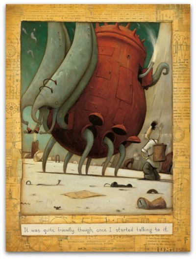 Lost Thing (Inside) by Shaun Tan 2
