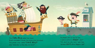 Pirates Don't Drive Diggers - Alex English