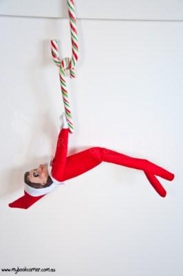 Elf on the Shelf Ideas - My Book Corner