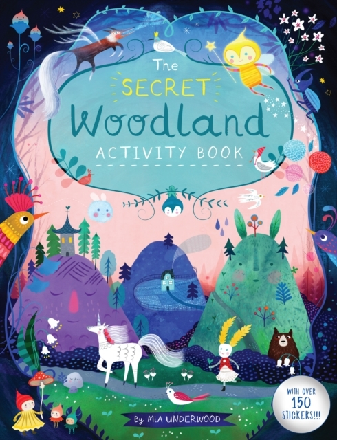 SecretWoodlandActvityBook
