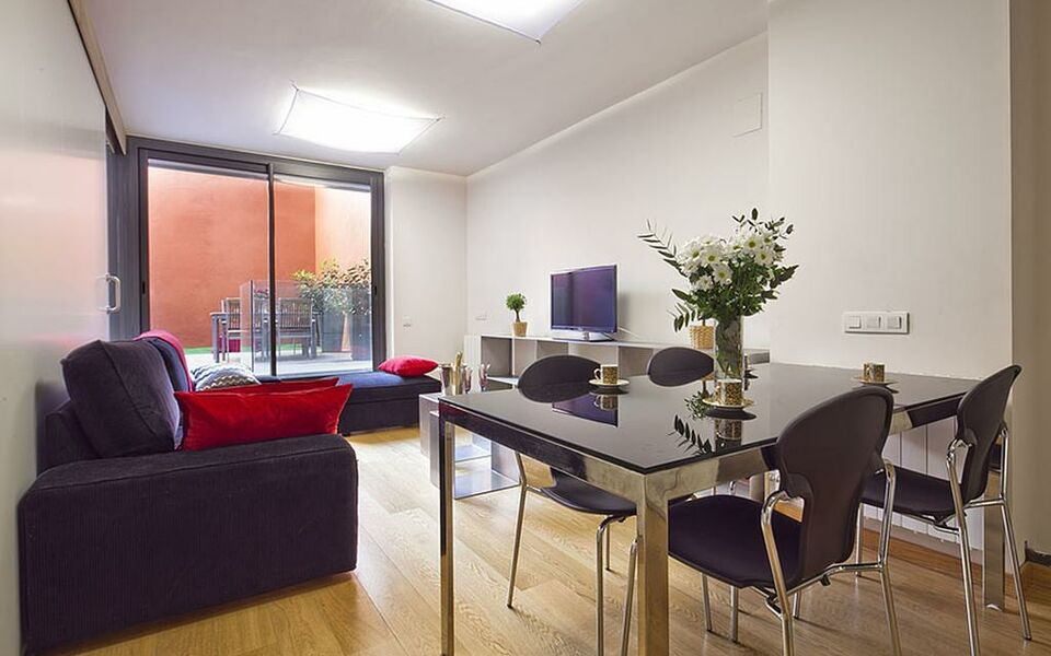 Lovely 28 Living Room City Center Barcelona Intimate In The Part 12