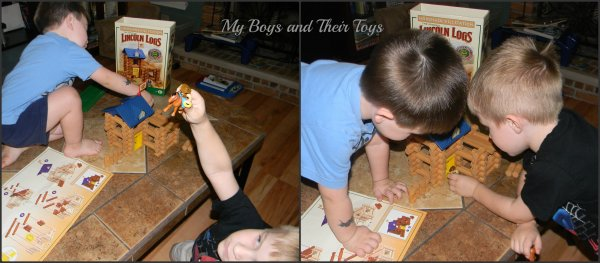 KNEX Lincoln Logs Review Giveaway spon