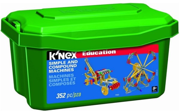 KNEX Education Simple Compound Machines Giveaway