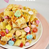 Vlaentine's Chex Mix