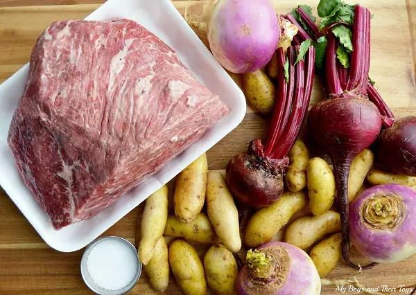 Beet & Potato Pot Roast