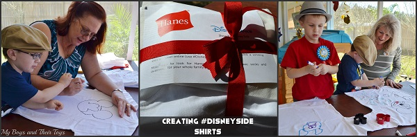 #DisneySide shirts