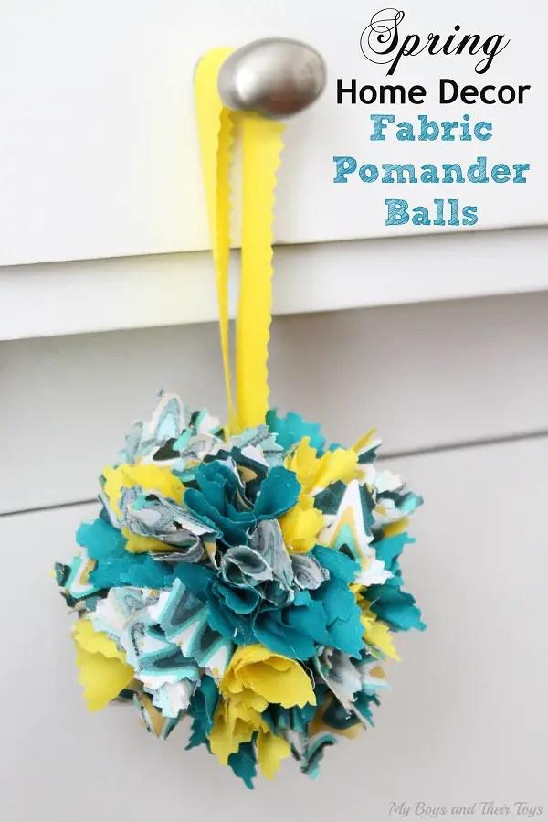 fabric pomander balls