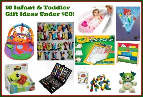 10 Infant Toddler Gift Ideas