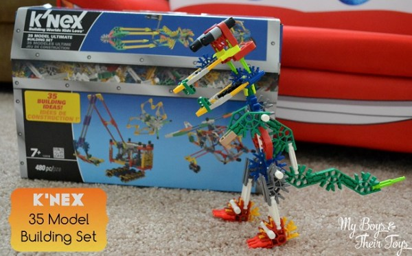Creative Toys for Kids KNEX 35 Model Building Set My