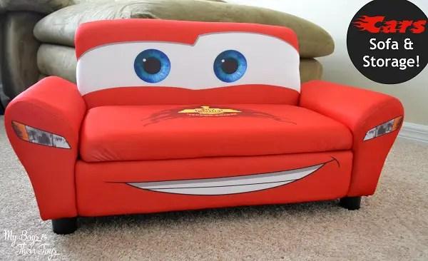lightning mcqueen sofa