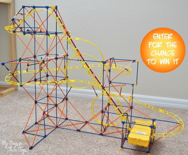 KNEX Hyperspeed Hangtime Roller Coaster Building Set My