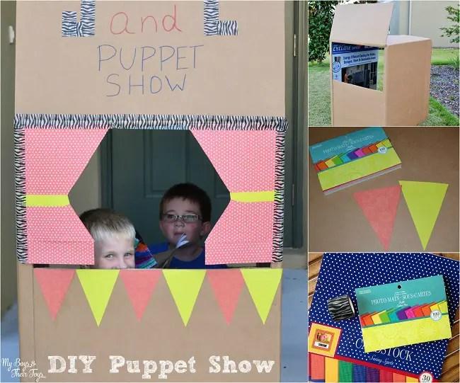 diy puppet show