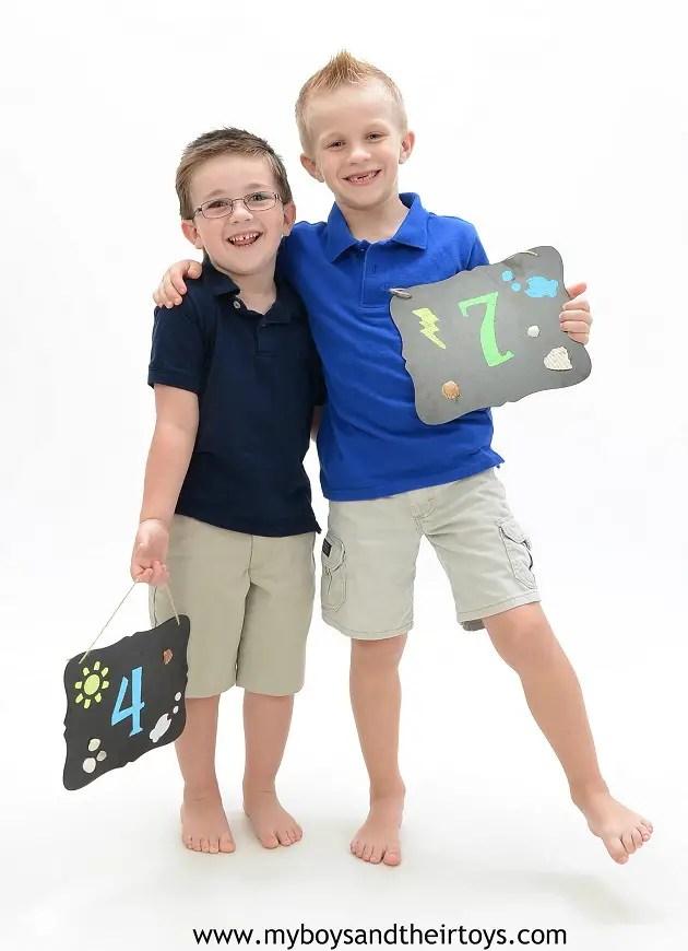Boys And Their Toys : Family portraits easy chalkboard paint craft my boys
