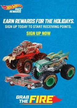 hot wheels race rewards