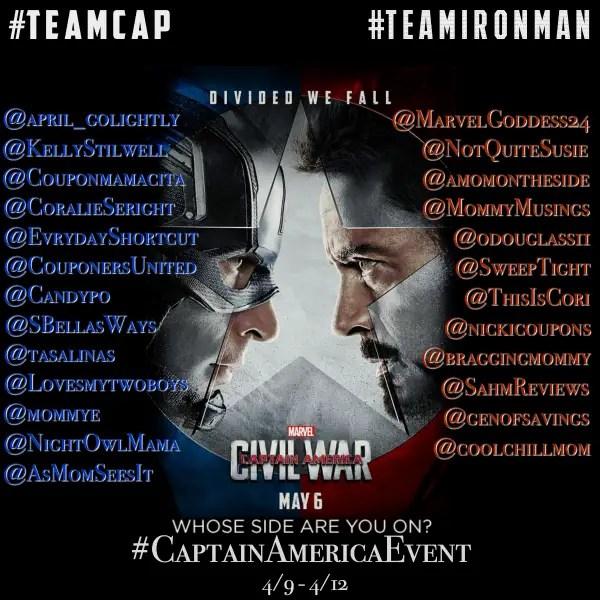 Captain America: Civil War Press Junket