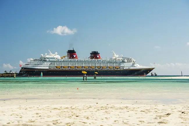 The Disney Magic cruise ship