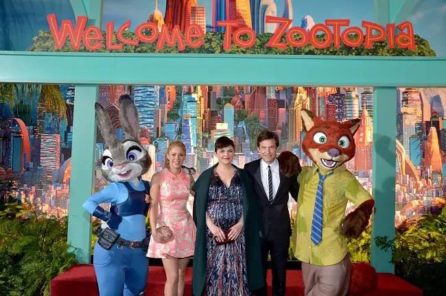 Disney's Zootopia red carpet