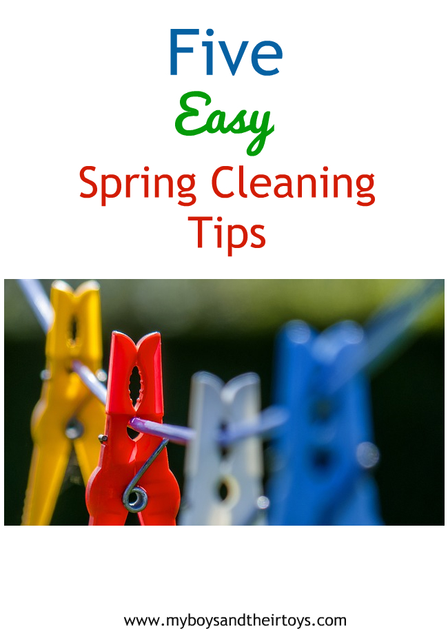 5 Easy Spring Cleaning Tips My Boys And Their Toys
