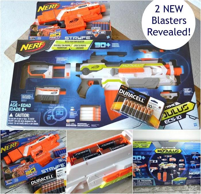 new nerf blasters