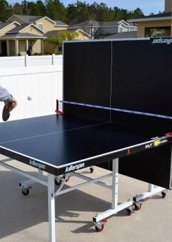 single player ping pong table
