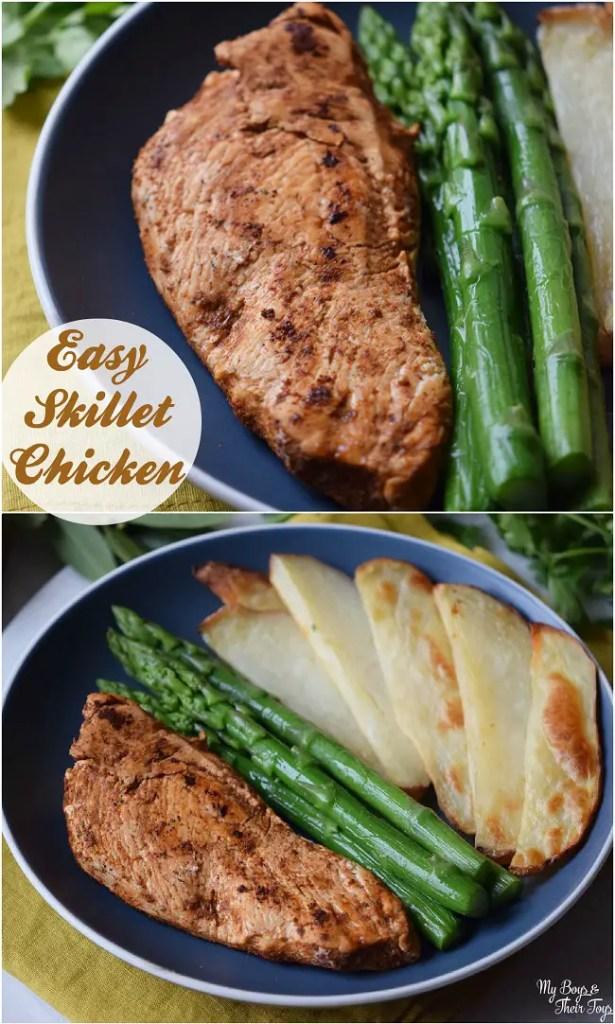 easy skillet chicken