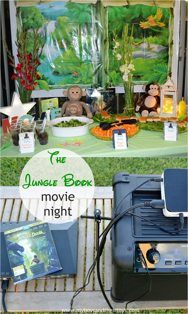 jungle book movie party
