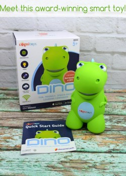 Award-Winning Talking Dinosaur Toy by Cognitoys