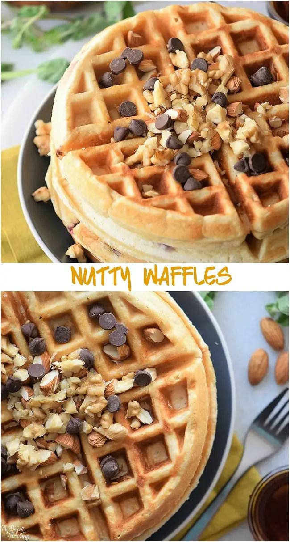 nutty waffles