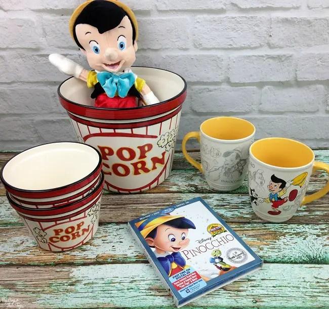 Pinocchio movie night