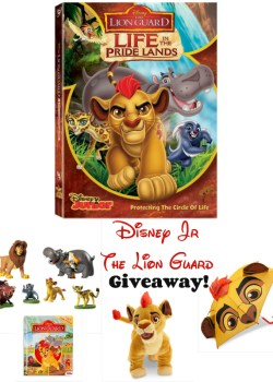 Disney Jr The Lion Guard New DVD