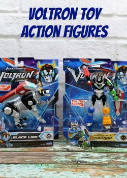 New Voltron Toy Action Figures + Legendary Printables